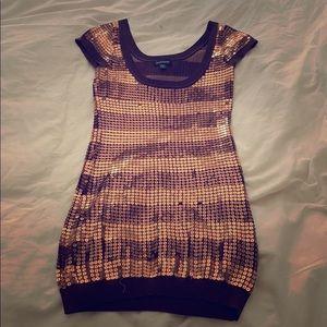Sequin Bebe mini dress